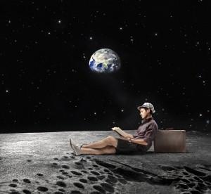 Enjoying the Moon